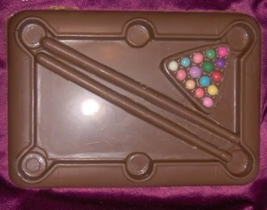 Chocolate Pool Table